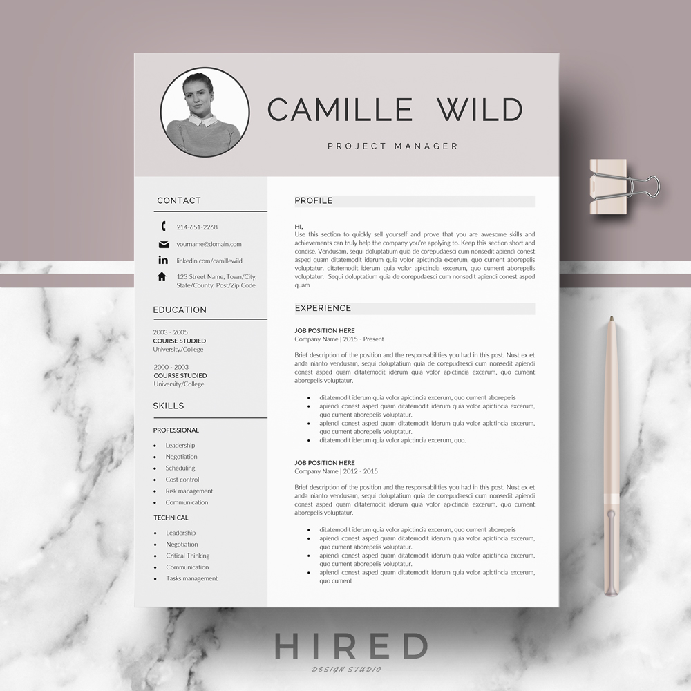 Camille  Hired Design Studio