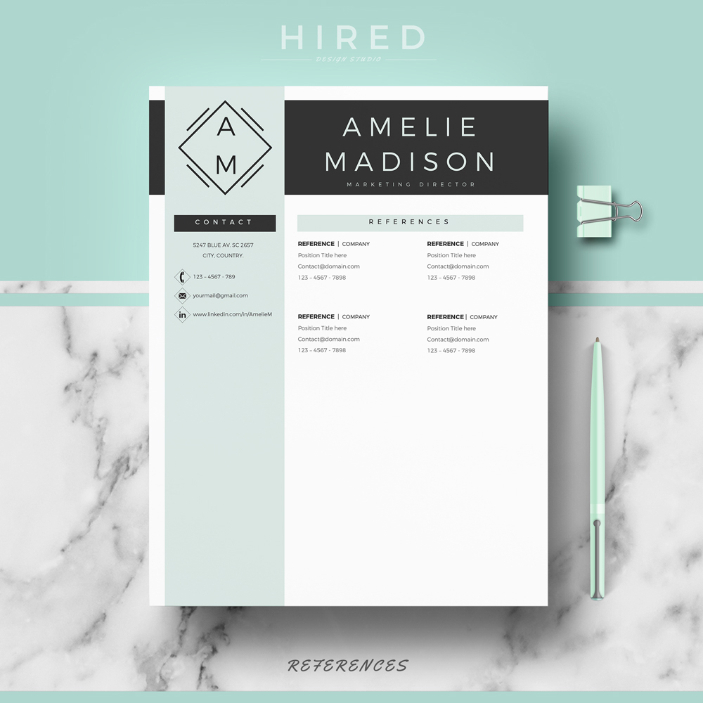 Student Resume Templates Resume Templates  Hired Design Studio Sample Sales Associate Resume with Sites To Post Resume Word Modern Resume Template  Professional Resume Template  Quick View  Physical Education Resume Excel