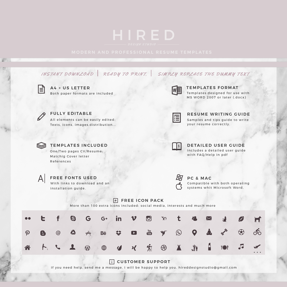 Teacher resume template archives hired design studio 28 like altavistaventures Images