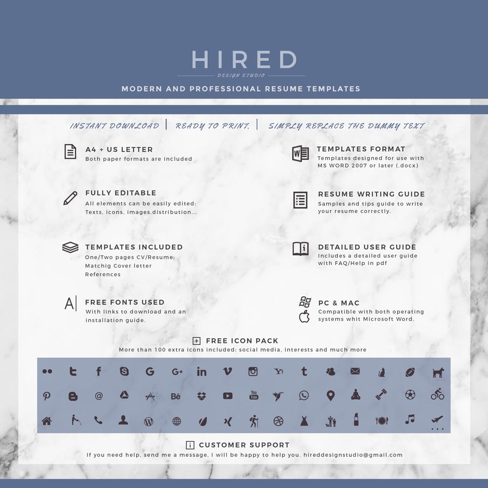 Creative Resume Template · Quick View. U201c