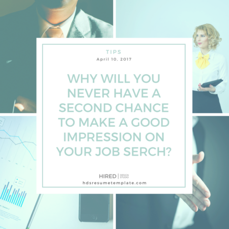 A second chance to make a good impression?
